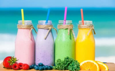 3 Colorful Smoothies to Try on National Smoothie Day